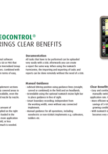 Vicon IsoMatch GEOCONTROL one pager