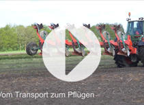 VIDEO Kv 2500 i-Plough Perfect Ploughing in a Record Time (DE)